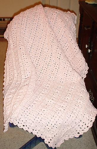 Ravelry Cuddle Soft Baby Blanket Pattern By Nancy J