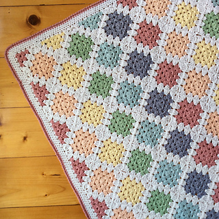 Ravelry Spin Your Granny Square Pattern By Kylie Moleta