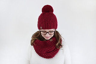 7b3ca11082b Ravelry  Chunky Seed Hat and Cowl pattern by Destiny Meyer