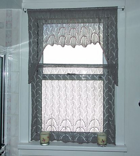 Ravelry Lace Curtain Set Pattern By Judith A Helms