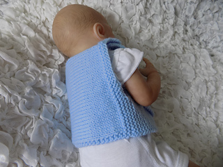 8040f2a2dcd Ravelry  Premature Baby 10in wrap and booties pattern by Angela ...