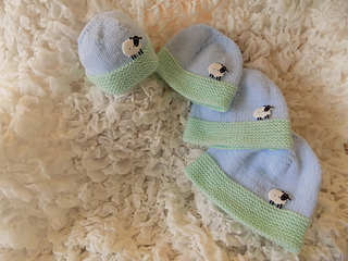8f3934bc268 Ravelry  Premature Baby Sheep Hat pattern by Angela Turner