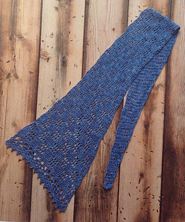 3c05cfdb0 Ravelry  Easy Asymmetrical Scarf pattern by Tian Connaughton