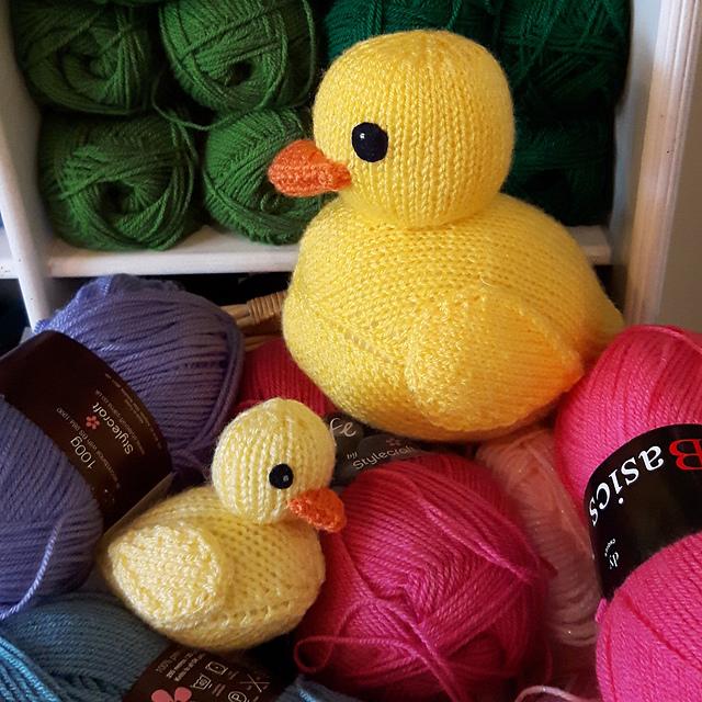 Ravelry Rubber Ducks Pattern By Nicky Fijalkowska