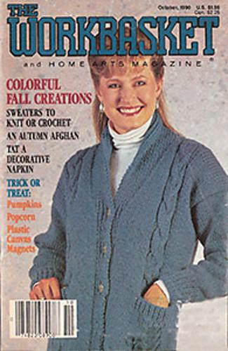 Ravelry Workbasket Magazine Vol 56 No 1 October 1990 Patterns