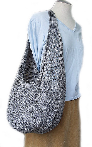 Ravelry Farmer's Market Bag Pattern By Haley Waxberg Custom Crochet Hobo Bag Pattern