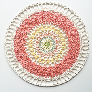 Ravelry I Dream Of Spring Mandala Wall Hanging Pattern By