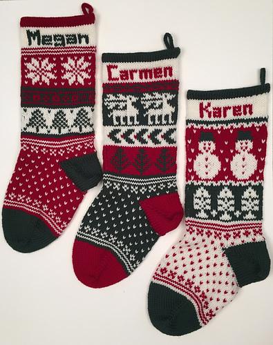 Christmas Stocking Trifecta PDF