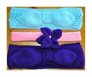 Ravelry: DK Ladies & Girls Headband Knitting Pattern ...