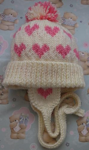84e34d35279 Aran Babies Bobble Hats  by Knits-r-us