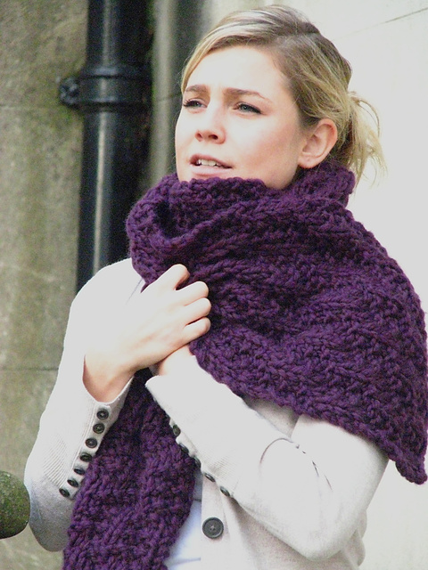 Ravelry Chunky Mock Cable Scarf Pattern By Alex Lawson