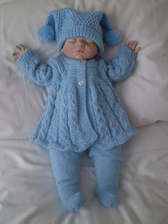 Ravelry Reborn 0 3 Months Baby Matinee Pram Set