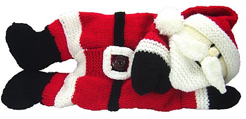 Ravelry Santa Pyjama Case Pattern By Knitting By Post