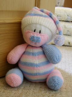 Ravelry: Nursery Bear Door Stop Pattern By Knitting By Post