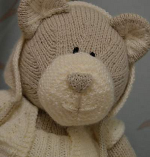 Ravelry: All Bear One Teddy Bear pattern by Knitting by Post