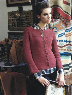 5767bc13f Ravelry   22 Garter Yoke Cardigan pattern by Melissa LaBarre