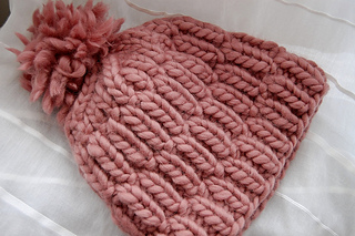 Really Warm hat pattern by Melissa LaBarre