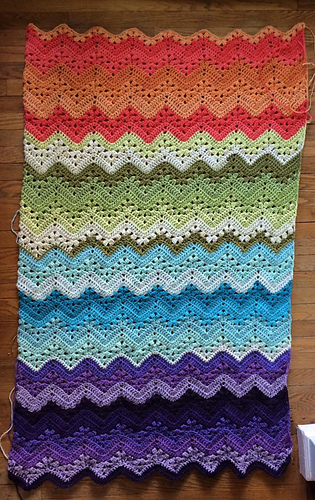 Ravelry Knittinghoneybee S 6 Day Kid Blanket