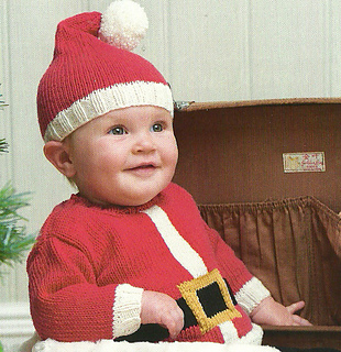 ravelry santa baby hat pattern by lena swan  ravelry santa baby knitted christmas  baby sweater pattern by jane burns 8cea64d2e96d
