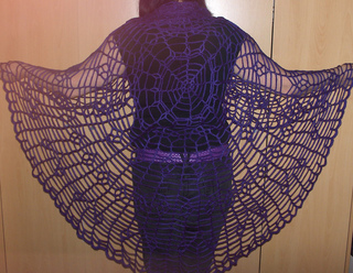 Ravelry Halloween Spider Web Archived Pattern By Deb D Zio