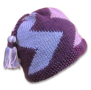6022f2a5e39 Ravelry  Ziggy Hat pattern by Tina Whitmore