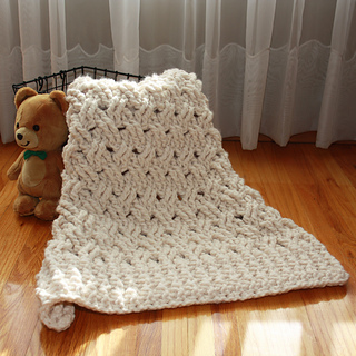 Ravelry: Chunky Baby Blanket pattern by Kim Miller