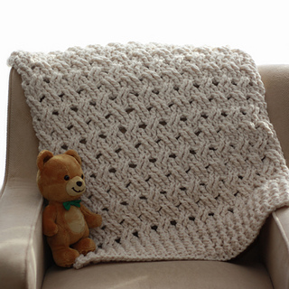 Ravelry Chunky Baby Blanket Pattern By Kim Miller