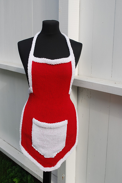 ravelry christmas apron pattern by julie berg - Christmas Apron