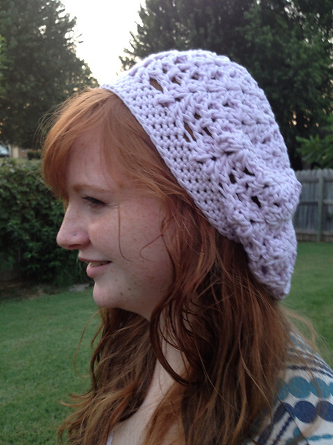 Ravelry The Kid Lace Slouch Hat Pattern By Kim Polchow