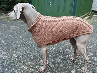 ravelry hundepulli maxi dog sweater pattern by christine goes. Black Bedroom Furniture Sets. Home Design Ideas