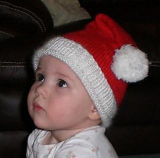 Ravelry  Baby Santa Hat pattern by kristo b498a982c2d