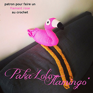 ravelry pakalolo flamingo pattern by la belette rose. Black Bedroom Furniture Sets. Home Design Ideas