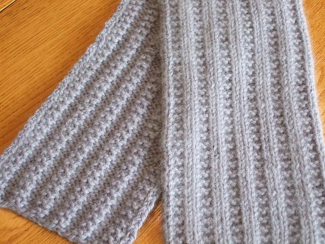 Ravelry Garter Stitch Rib Scarf Pattern By Joanne Dillahunty
