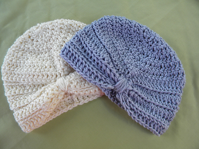 Ravelry Crochet Baby Turban Pattern By Carrie Lundell