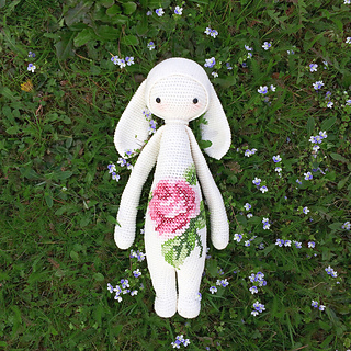 Ravelry: RITA the rabbit - bunny mod kit for lalylala ...