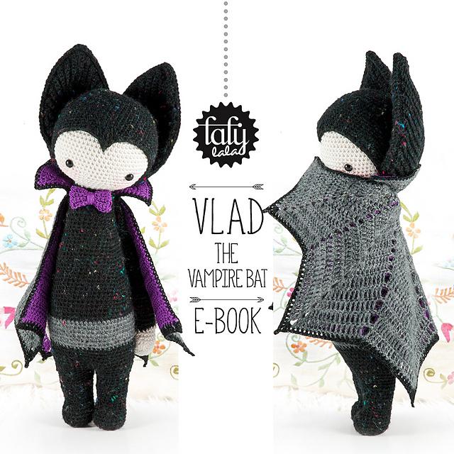 Ravelry: lalylala VLAD the vampire bat pattern by Lydia Tresselt