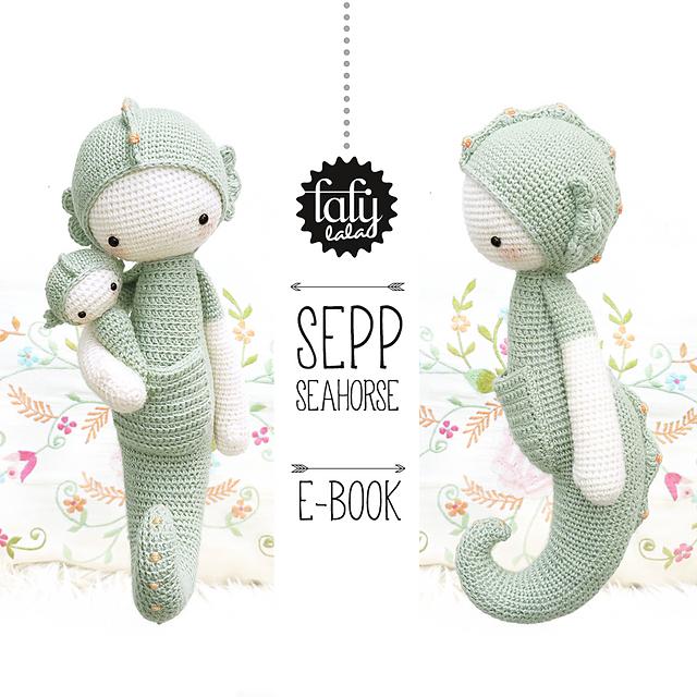 Ravelry: lalylala SEPP seahorse pattern by Lydia Tresselt