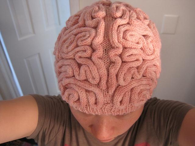 Ravelry  Brain Hat (Knitting pattern) pattern by Alana Noritake b63d6698193