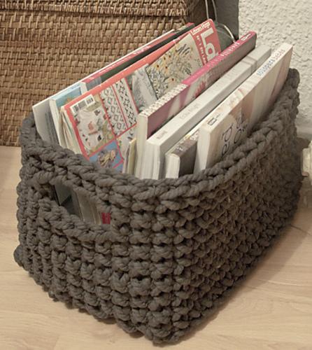 Ravelry Rectangle Basket Pattern By Lauguina Siuke