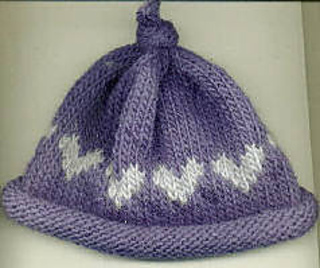 Ravelry  Roll Brim Baby Hat pattern by Laurie Sundstrom 02d27bdb20c
