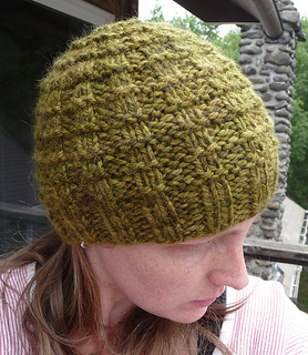 Ravelry  Close Knit Waffle Hat pattern by Leah Bandstra 92d22e18e89