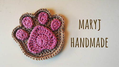 Ravelry Supercute And Easy Paw Pattern By Maryj Handmade