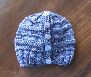 17ac47106 Easy Trails Ponytail Hat pattern by Lena Mathisson
