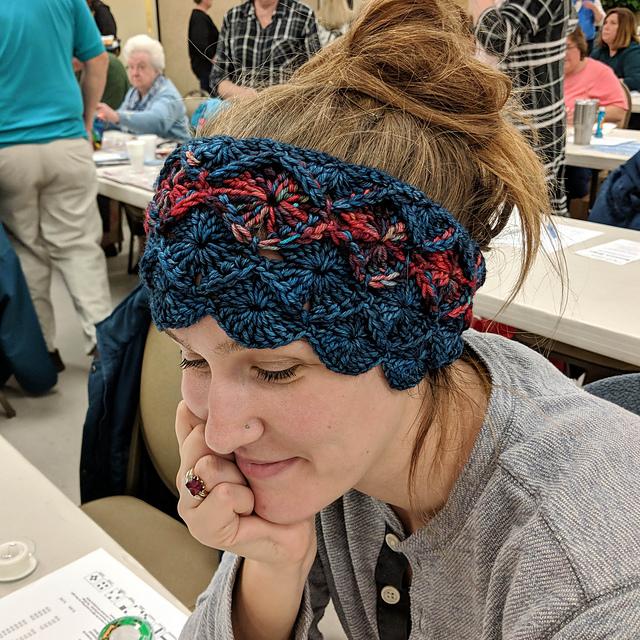 Ravelry Bavarian Crochet Head Warmer Pattern By Leslie Alpert