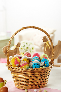Ravelry lets get crafting knitting crochet 59 patterns basket of eggs negle Images