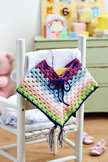 Ravelry Cheerful Poncho Pattern By Jackie Carreira