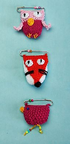 Ravelry Quirky Brooches Pattern By Nicola Valiji