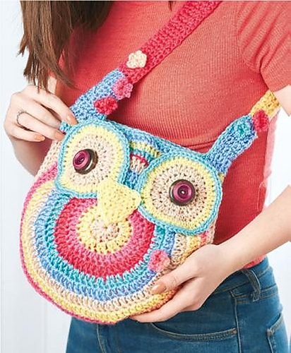 Ravelry Owl Tote Bag Pattern By Ali Campbell