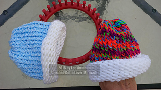 647242342b7 Ravelry  lhamm s Newborn Loom Knit Baby Hat