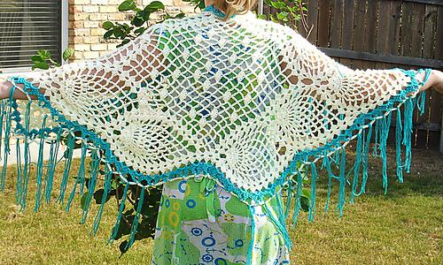 Ravelry Pineapple Shawl Pattern By Liana Graham